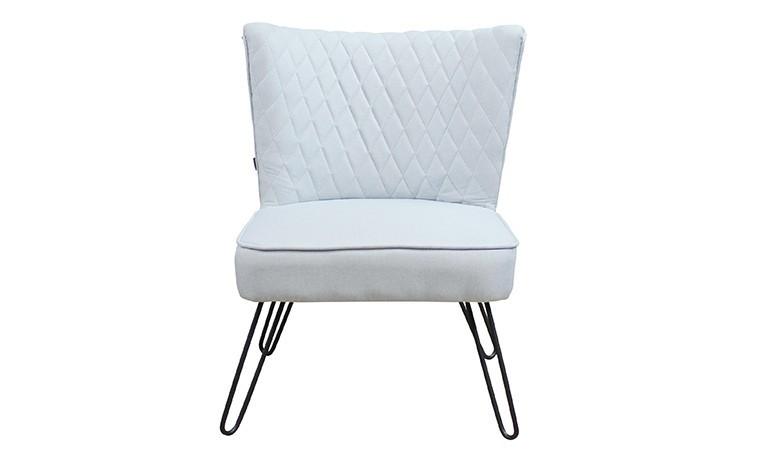 fauteuil rétro bleu