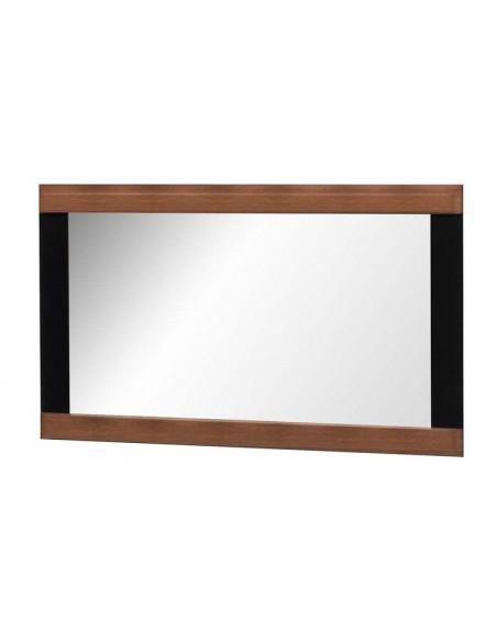 Miroir chêne foncé