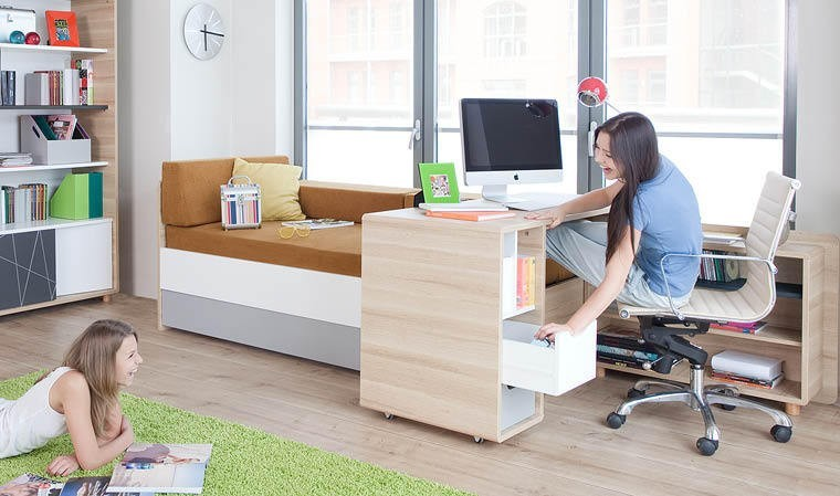lit coffre 1 place modulable en bois chambre adolescent fille et gar on. Black Bedroom Furniture Sets. Home Design Ideas