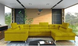 Grand canapé d'angle design