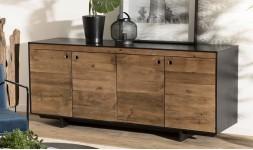 Buffet rangement bois recyclé