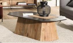 Table basse octogonale
