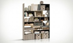 Bibliothèque modulable design