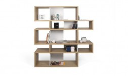 BIBLIOTHEQUE DESIGN LONDON MI-HAUTE CHENE