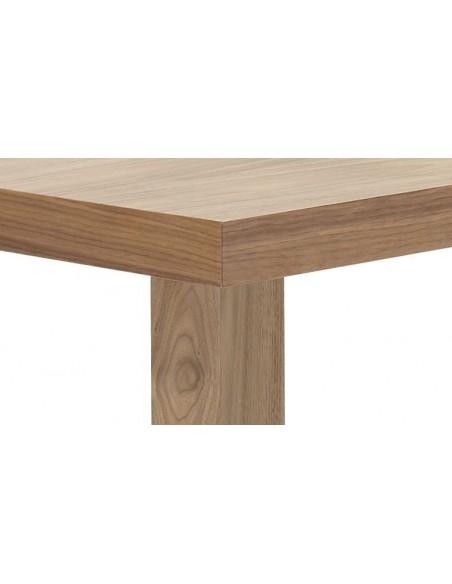 Bureau MULTI avec pieds en bois carrés