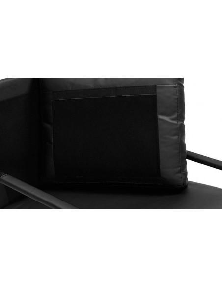 Fauteuil contemporain noir