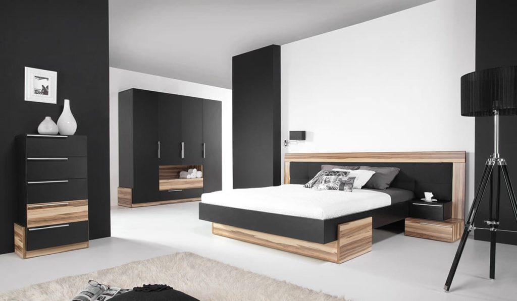 chambre couleur noire