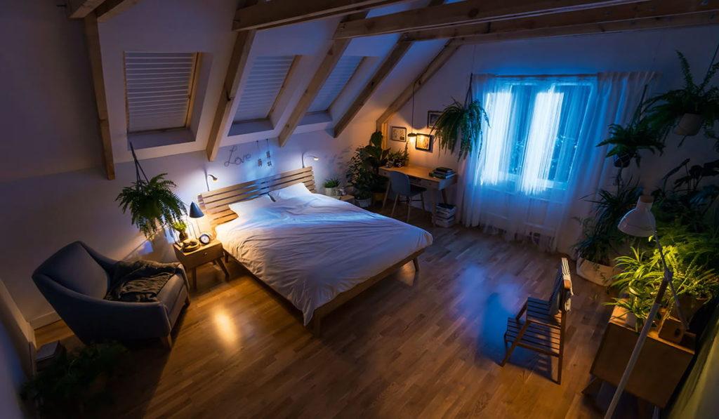 chambre romantique