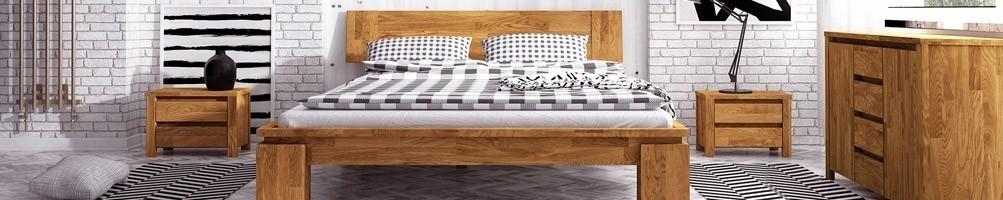 lit bois massif design fabriqu en europe house and garden. Black Bedroom Furniture Sets. Home Design Ideas
