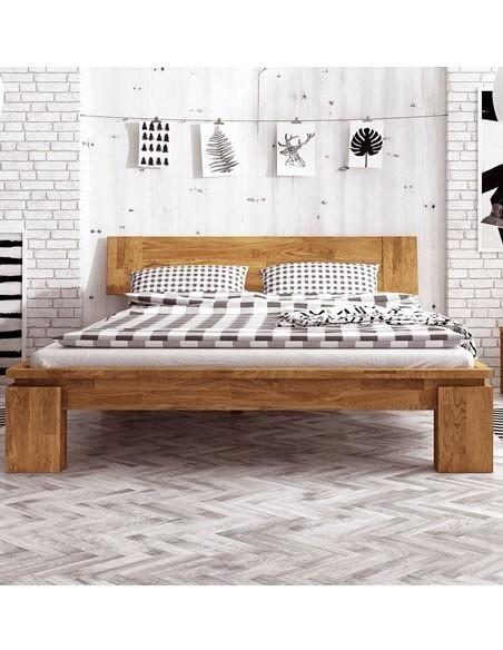 Lit bois massif design