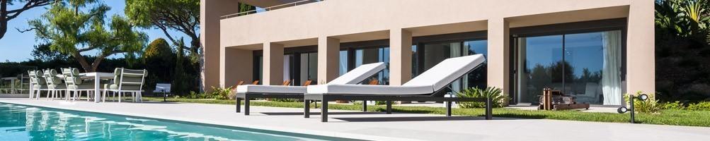 Salon de jardin haut de gamme et mobilie extérieur de luxe