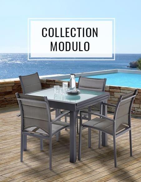 Collection salon de jardin modulo