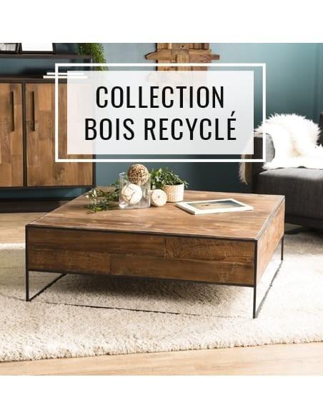 Collection meubles en bois recyclé