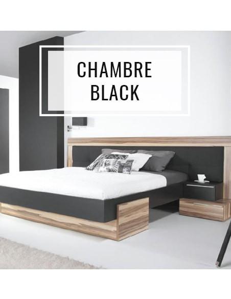 Meubles design chambre black