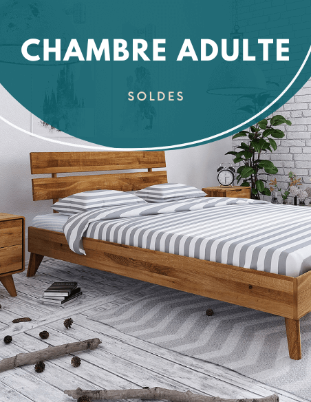 Soldes chambre adulte