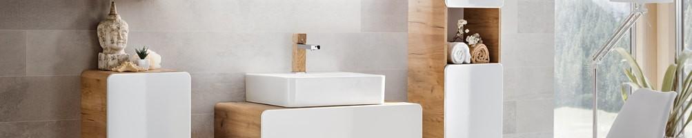 Meuble avec vasque de salle de bain - House and Garden