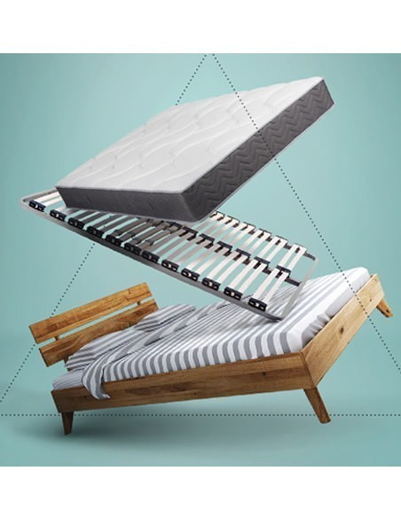 Collection lit + sommier + matelas