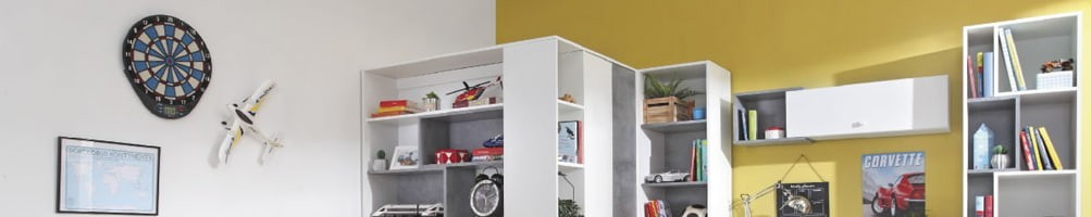 Armoire d'angle enfant et ado design - House and Garden
