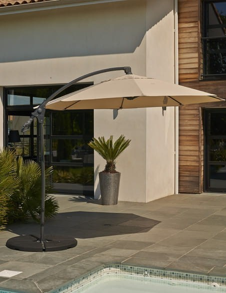 Collection parasol de jardin