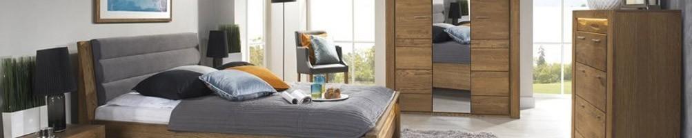 Chambre complète adulte : lit avec meubles de chambre à coucher