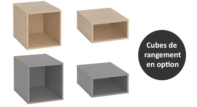 Cubes de rangement meuble 4you