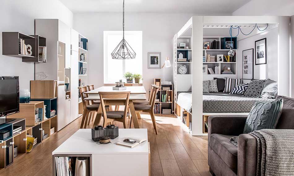 Meuble moderne et design blanc