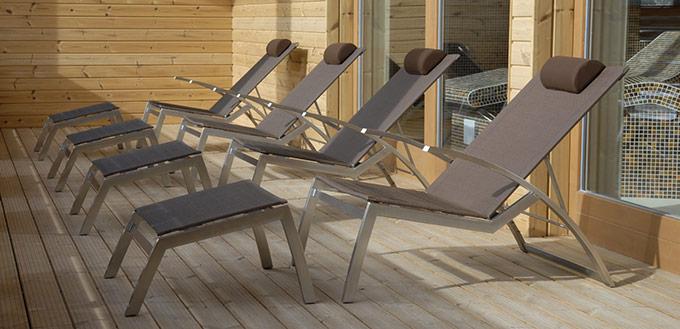 Fauteuil de jardin relax design