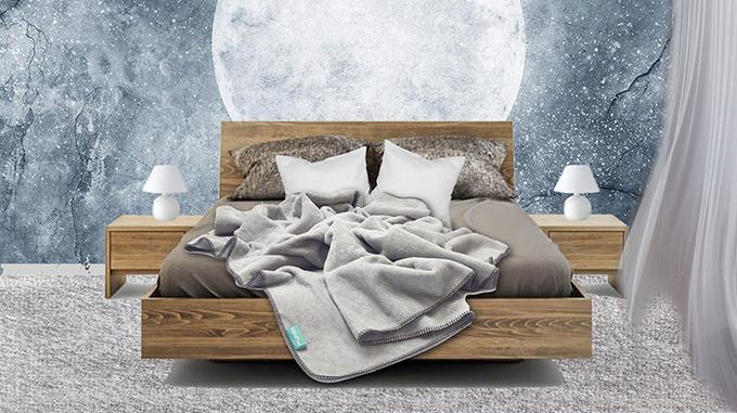 lit adulte avec coffre