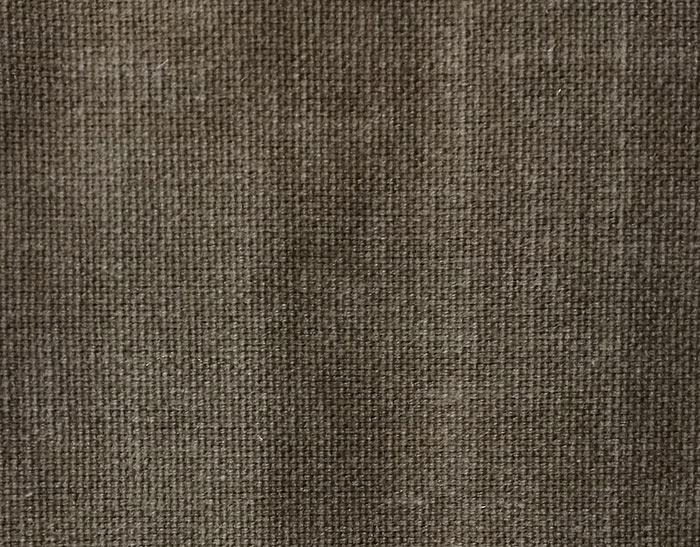 Tissu marron en coton