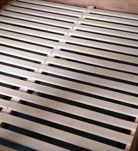sommier lattes bois massif
