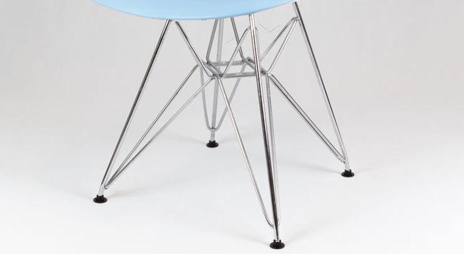 Chaise design en métal