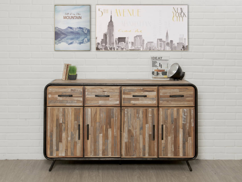 buffet vintage teck recycle