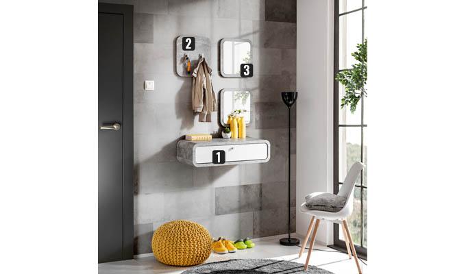 ensemble meubles muraux