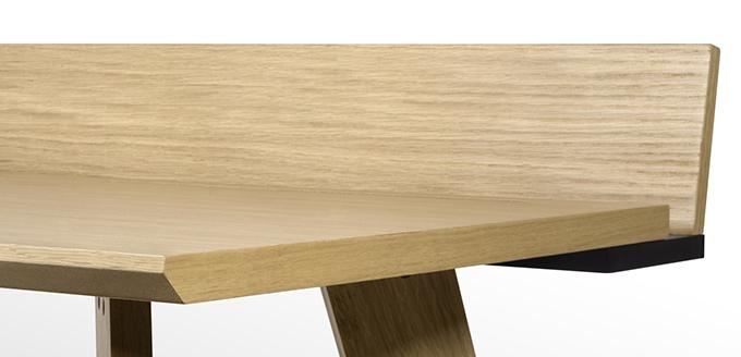 meuble en chêne scandinave