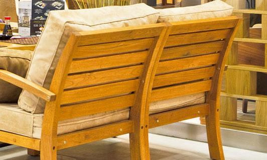 Salon jardin en bois acacia