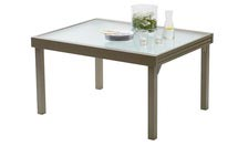 housse table modulo taupe