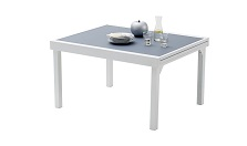 protection table modulo 6 gris perle