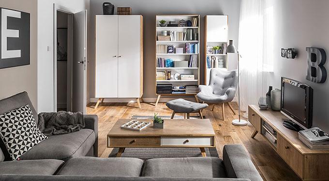Meuble tv design scandinave