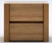 chevet bois massif design