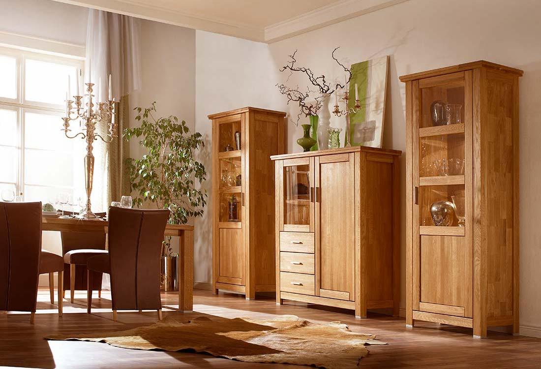 Collection meuble en chêne massif noueux