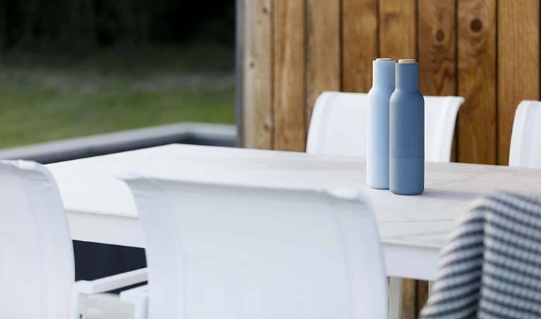 Plateau de table en céramique blanche