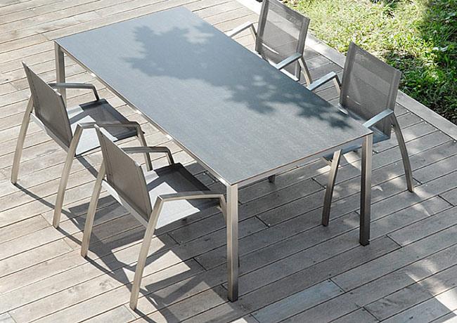 table puro 90x200 HPL GRIS