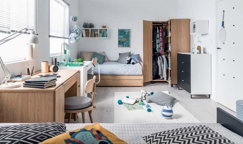 Chambre adolescent Simple Vox