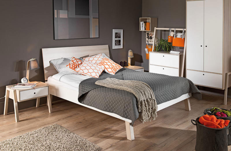 Lit design chambre adulte