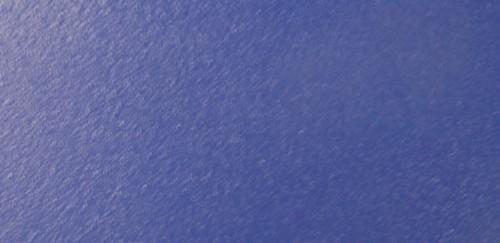 Acier couleur bleue