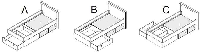 montage tiroir